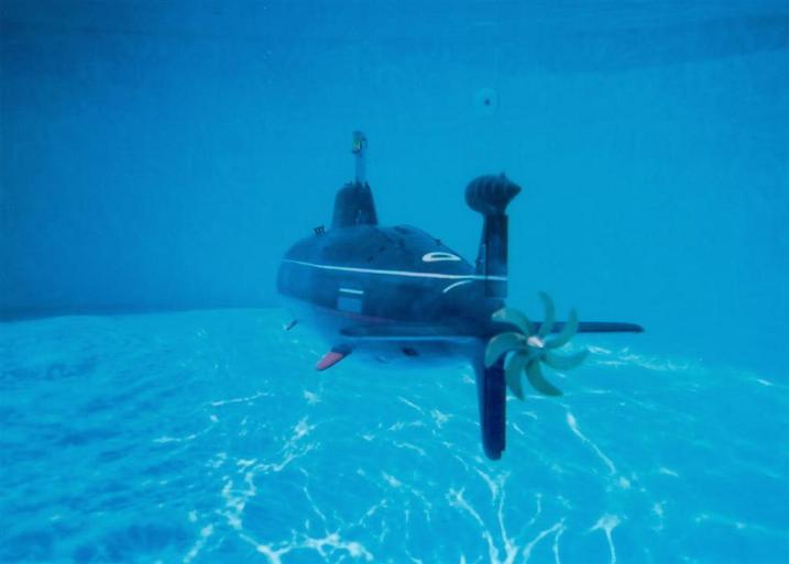 на чем работает дизельная подводная лодка под водой